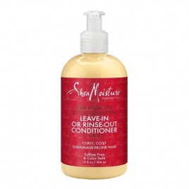 SHEA MOISTURE  RED PALM OIL AND COCOA BUTTER CONDITIONER