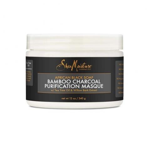 SHEA MOISTURE AFRICAN BLACK SOAP BAMBOO CHARCOAL PURIFICATION MASQUE
