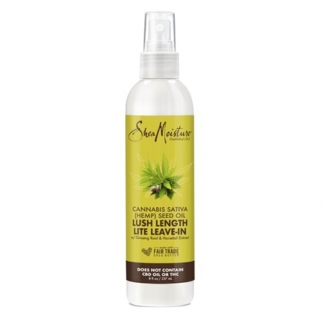 SHEA MOISTURE  LUSH LENGTH LITE LEAVE IN cannabis seed oil