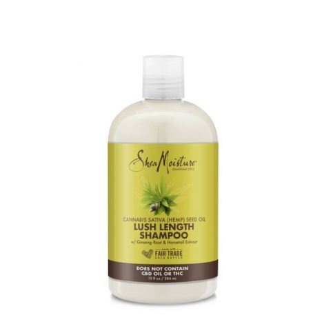 SHEA MOISTURE  LUSH LENGTH SHAMPOO cannabis seed oil