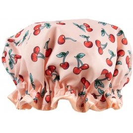 The Vintage Cosmetic factory THE CHERRY SHOWER CAP