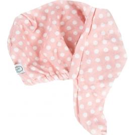 The Vintage cosmetic company Hair Turban Pink polka dot