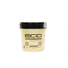 Eco Styler Gel Black castor and flaxseed oil 4736ml 16 oz