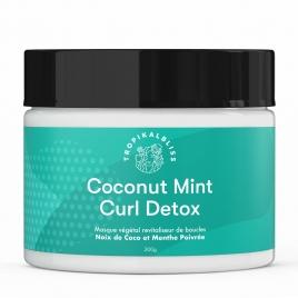 TropikalBliss  COCONUT MINT Curl Detox
