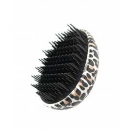 The Vintage factory THE DETANGLING BRUSH leopard