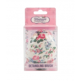 The Vintage factory THE DETANGLING BRUSH floral