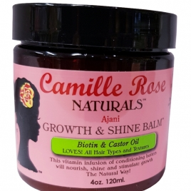 CAMILLE ROSE NATURALS GROWTH AND SHINE BALM