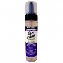AUNT JACKIE'S GRAPESEED FRIZZ PATROL ANTI-POOF TWIST& CURL SETTING MOUSSE