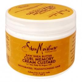 SHEA MOISTURE raw she butter CURL MEMORY CREAM CUSTARD