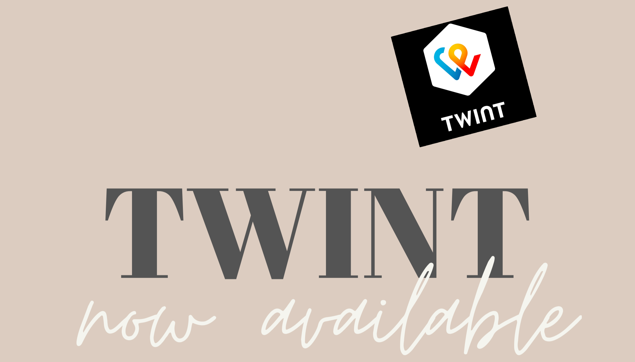 Twint now available